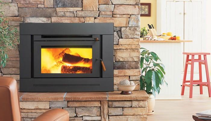 嵌入式燃木壁炉GI36