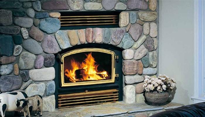 嵌入式燃木壁炉Z2510